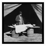 Embalming Surgeon at Work 1864 Poster