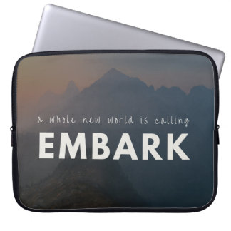 Embark - Inspirational Laptop Sleeve