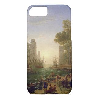 Embarkation of St. Paula Romana at Ostia, 1637-39 iPhone 7 Case