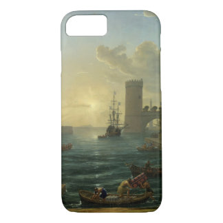 Embarkation of the Queen of Sheba - Claude Lorrain iPhone 7 Case