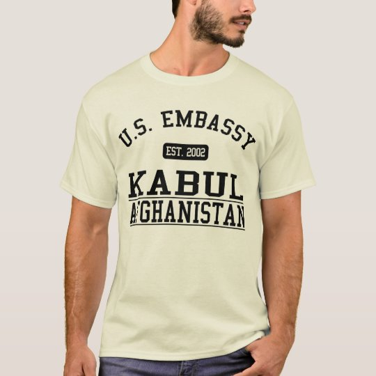 Embassy Kabul Afghanistan - 2002 T-Shirt