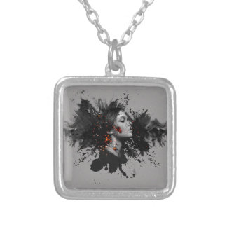Ember Series Her Silver Plated Necklace
