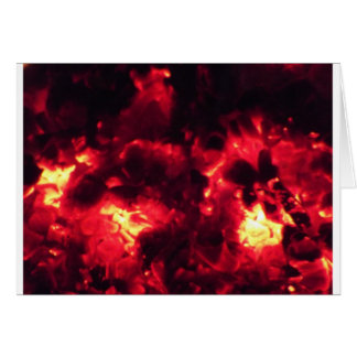 embers greeting card