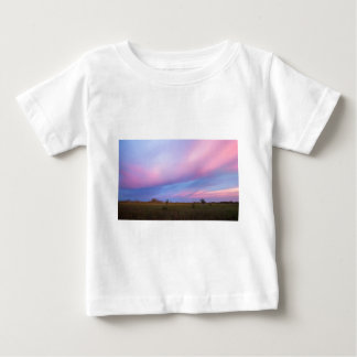 Embers in the Sky over Florida Everglades Baby T-Shirt