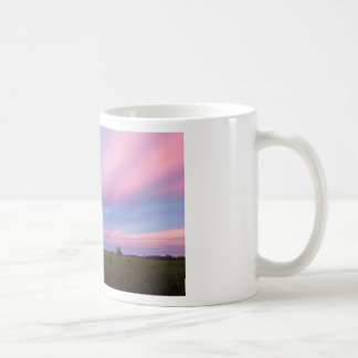 Embers in the Sky over Florida Everglades Coffee Mug