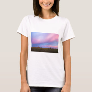 Embers in the Sky over Florida Everglades T-Shirt