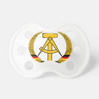 Emblem der DDR - National Emblem of the GDR Baby Pacifier