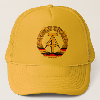 Emblem der DDR - National Emblem of the GDR Trucker Hat