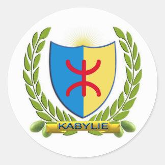 emblem kabylie 2010 round sticker