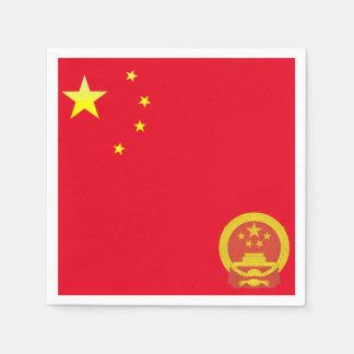 Emblem of China Paper Napkin