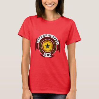 Emblem of City of El Paso, Texas T-Shirt