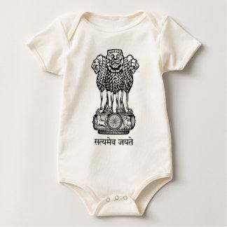 Emblem_of_India Baby Bodysuit