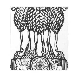 Emblem_of_India Notepad