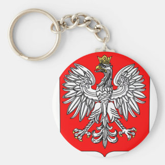 Emblem Of Poland Keychain