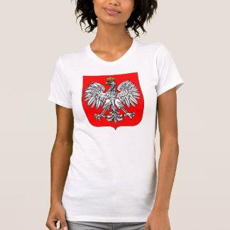 Emblem Of Poland Womens T-Shirt