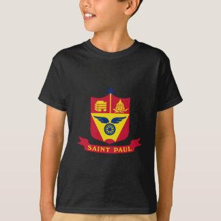 Emblem of St Paul, Minnesota T-Shirt
