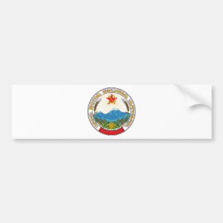 Emblem of the Armenian Soviet Socialist Republic Bumper Sticker