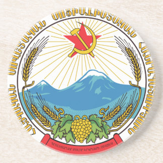 Emblem of the Armenian Soviet Socialist Republic Coaster