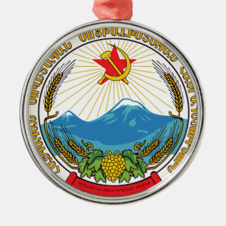 Emblem of the Armenian Soviet Socialist Republic Metal Ornament