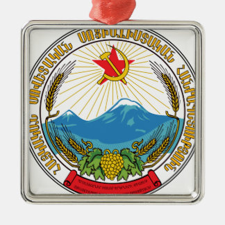 Emblem of the Armenian Soviet Socialist Republic Metal Ornament