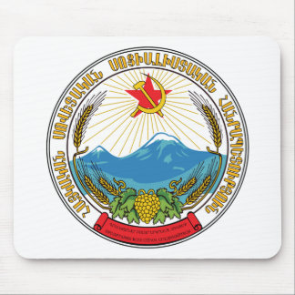 Emblem of the Armenian Soviet Socialist Republic Mouse Pad