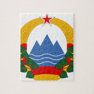 Emblem of the Socialist Republic of Slovenia Jigsaw Puzzle