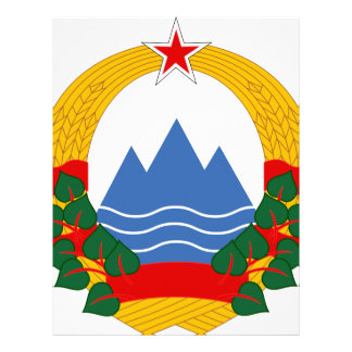 Emblem of the Socialist Republic of Slovenia Letterhead