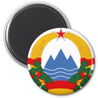 Emblem of the Socialist Republic of Slovenia Magnet
