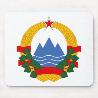 Emblem of the Socialist Republic of Slovenia Mouse Pad