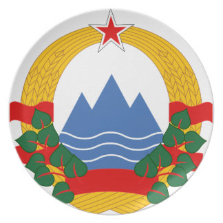 Emblem of the Socialist Republic of Slovenia Plate