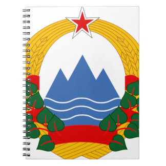 Emblem of the Socialist Republic of Slovenia Spiral Notebook