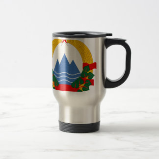 Emblem of the Socialist Republic of Slovenia Travel Mug