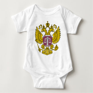 Emblem_of_the_Supreme_Court_of_Russia Baby Bodysuit