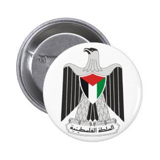 emblem palestine authority 2 inch round button