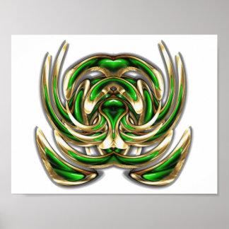 Emblème 000028 de rotation poster
