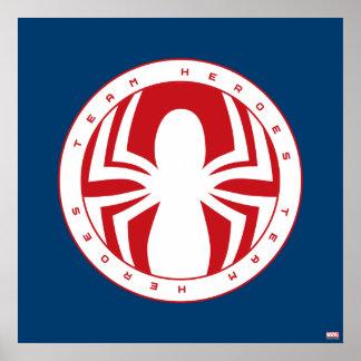 Emblème de héros d'équipe de Spider-Man