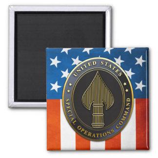 Emblème d'USSOCOM Magnet Carré