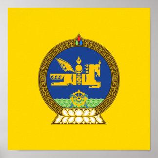 Emblème (mongol) mongol poster