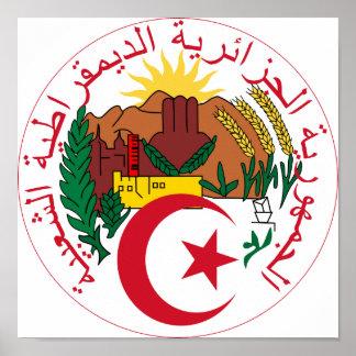 Emblème national de l'Algérie Affiches