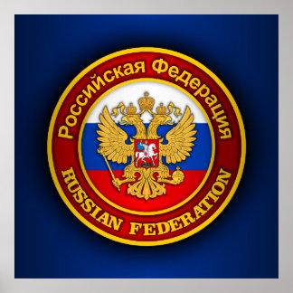 Emblème russe posters