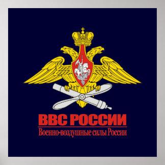 Emblème russe de l Armée de l Air Posters