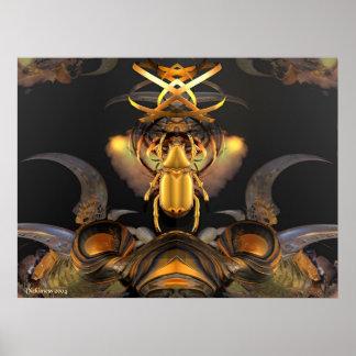 Emblème tribal de Yargo Poster