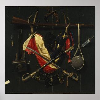 Emblèmes d'Alexander Pope de la guerre civile Poster