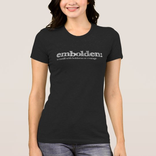 Embolden Tee in Dark Grey