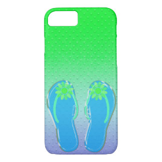 embossed dots with flip-flops iPhone 8/7 case