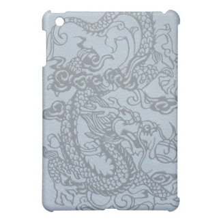 *Embossed Dragon's Pad on Multi-Color Leather Cover For The iPad Mini