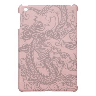 *Embossed Dragon's Pad on Multi-Color Leather iPad Mini Case