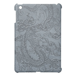*Embossed Dragon's Pad on Multi-Color Leather iPad Mini Cases