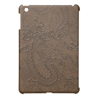 *Embossed Dragon's Pad on Multi-Color Leather iPad Mini Covers