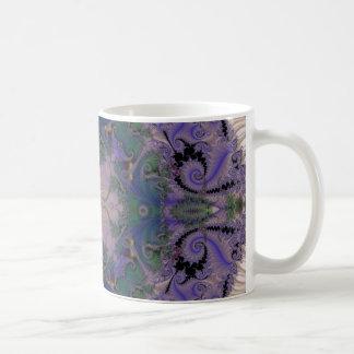 Embossed Fractal 10 Coffee Mug